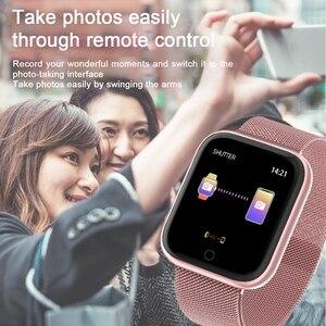 Image 5 - Femmes IP68 étanche montre intelligente P70 P68 Bluetooth 4.0 Smartwatch pour moniteur de fréquence cardiaque Fitness Tracker