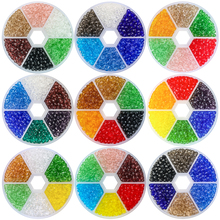 4mm 6mm 5040 Wholeslae Briolette Beads Crystal Rondelle Faceted Austria Glass Round Embroidery for Jewelry Making Supplier