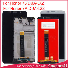 LCD Display For Huawei Honor 7S DUA-LX2 DUA-L02 Honor 7A DUA-L22 LCD LCD Display  with Touch Sensor Complete Assembly v156b2 l02 lcd display screens