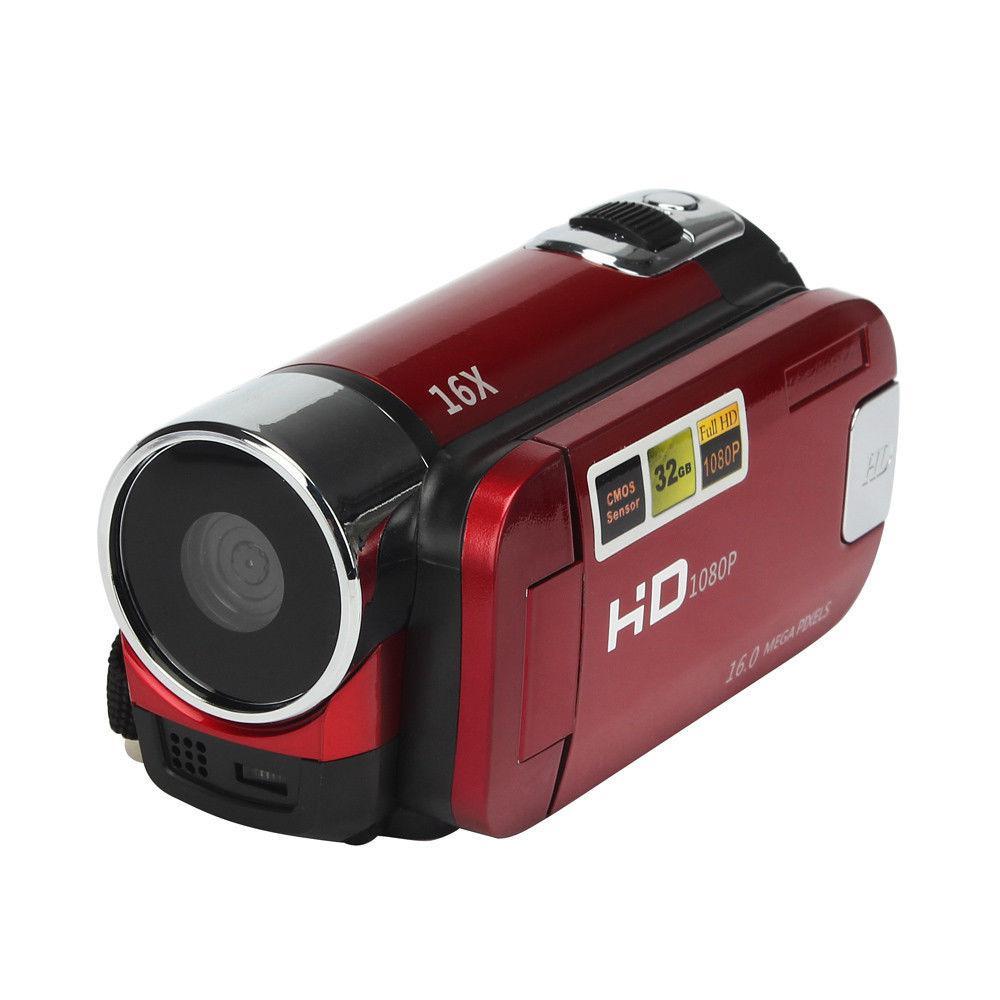 Full Hd 1080P Video Camera Professionele Digitale Camcorder 2.7 Inch 16MP High Definition Abs Fhd Dv Camera 270 Graden rotatie 1