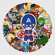 53PCS Disney Marvel cartoon character Sticker Waterproof Vinyl Decal for Laptop Helmet