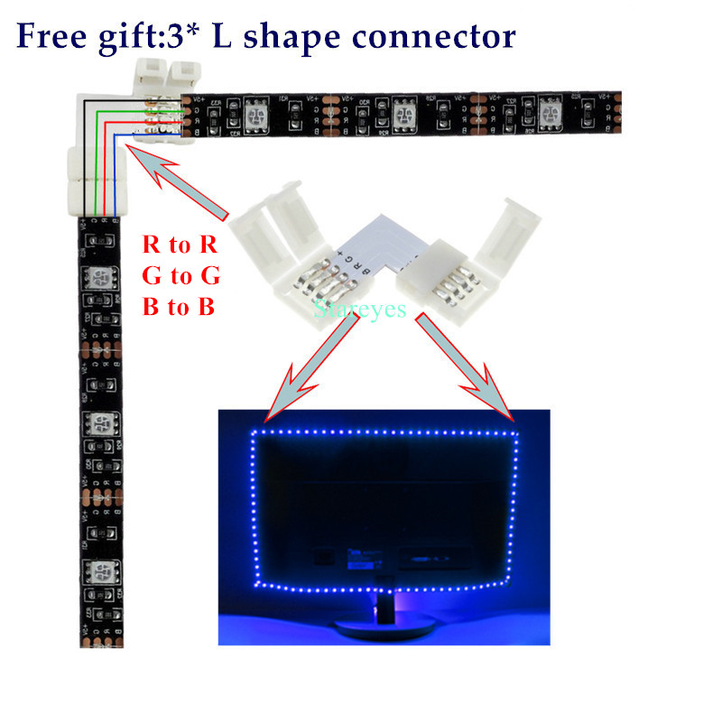 SMD 5050 RGB LED Strip DC 5V USB LED Light Strips Flexible IP20 IP65 Waterproof Tape SMD 5050 RGB LED Strip DC 5V USB LED Light Strips Flexible IP20 IP65 Waterproof Tape 1M 2M 3M 4M 5M add Remote For TV Background