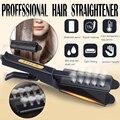 Выпрямитель для волос с четырьмя режимами  утюжок с регулируемой температурой для выпрямления волос  профессиональные электронные утюги д...