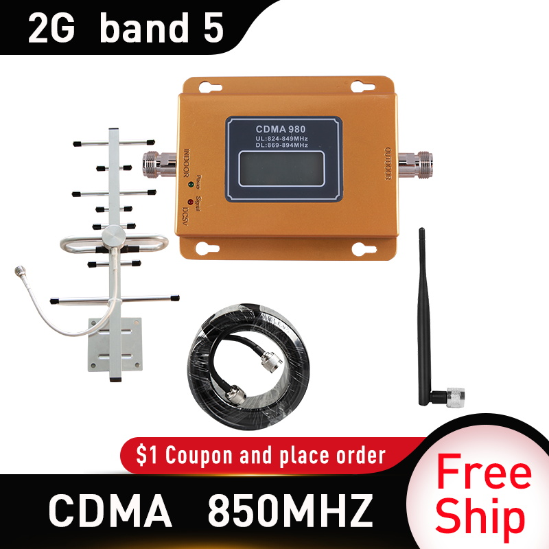 Brazil CDMA 3g Repeater 850 MHz 2G 3G 850mhz UMTS GSM Cell Phone Signal CDMA Amplifier CDMA Mobile Phone Signal Repeater Booster