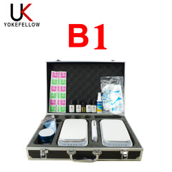 Mobile Phone Nano Coating Machine set Multi Function Liquid Screen Protector UV Sterilizer Suit case