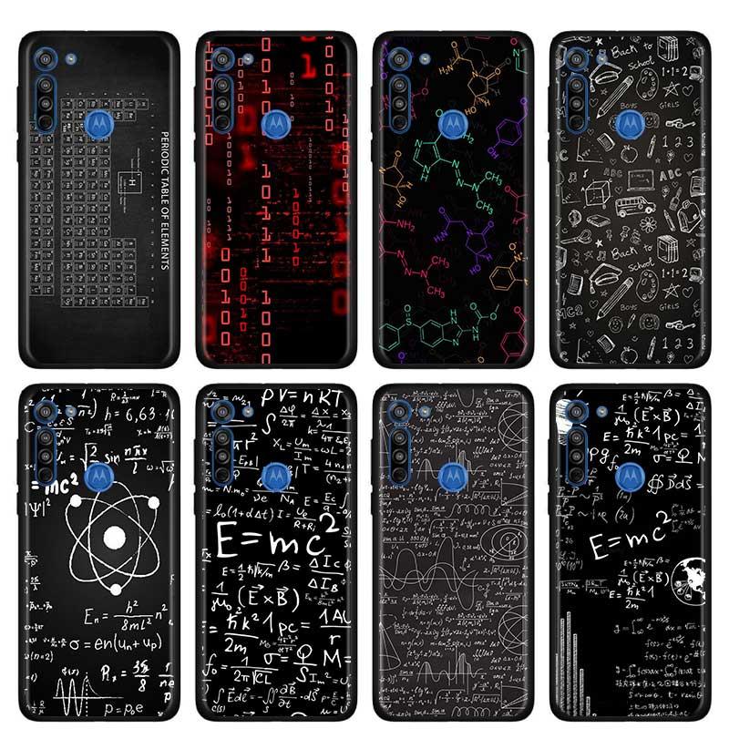 E=Mc2 Mathematical Equation Physical Formula Case For Motorola G Style G8 Power Plus Play Lite One Hyper G Power E6s Edge Plus