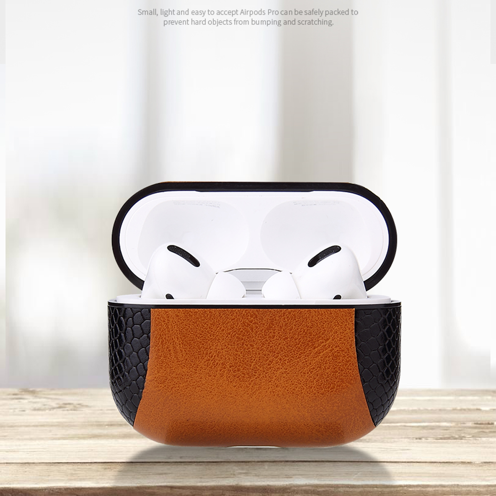 Multi-Colored Leather Case for AirPods Pro 34