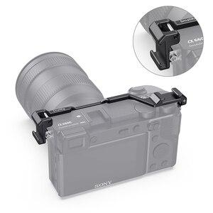 Image 4 - 소니 a6600 카메라 용 SmallRig Shoe Mount 재배치 플레이트 마이크 또는 플래시 라이트 용 Vlog Rig 2498 부착