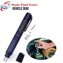 Тестер тормозной жидкости Универсальный 5 светодиодный точный контроль качества масла ручка Автомобильная Тормозная жидкость тестирование инструмент для ремонта автомобиля