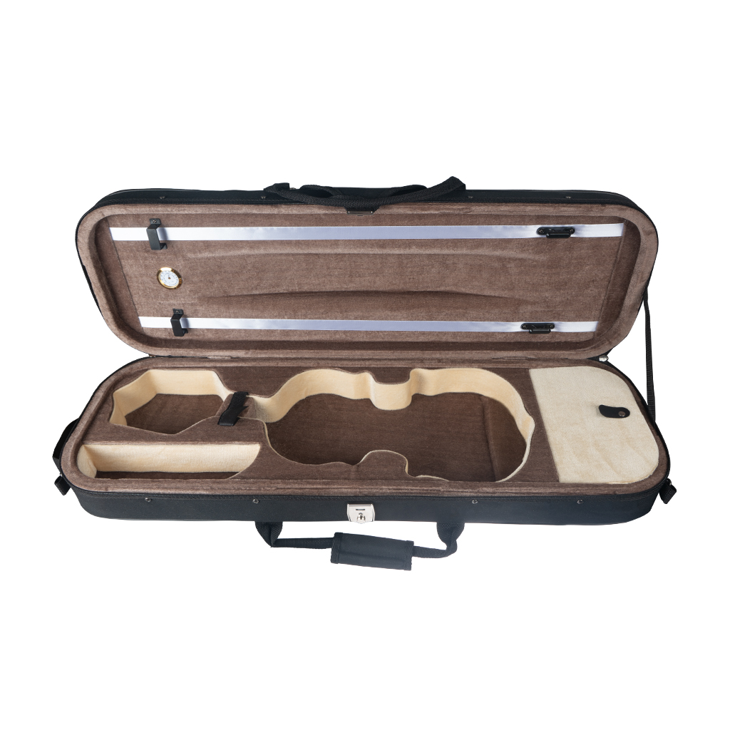 Professional Super Light Suspension Violin Hard Case For 1/2 Violin, With Adjustable Straps
