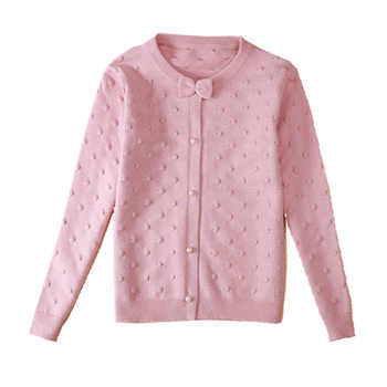 2019 spring children's clothes girls sweaters casual solid long sleeve baby girl knitted cardigan sweaters for girls big kids - DISCOUNT ITEM  0% OFF All Category