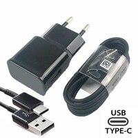 Cargador rápido para Samsung S10, A50, A70, Cable USB tipo C, adaptador, S10E para Samsung, S10 plus, S9, S8, Note 10, 8, 9