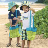 Home Storage Organizer Pack Pouch Box Summer Mesh Beach Bag Portable Carrying Toys Tote Beach Ball Organizadores Toy Kid x
