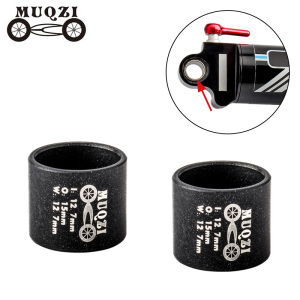 MUQZI Bike Shock Absorbers Du Bushing Stainless Steel Suspension Rear Gallbladder Bushing Bearing Mountain Bicycle