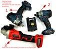 Para llave de Torque Makita destornillador amoladora angular 18V motor sin escobillas Llave de impacto inalámbrico taladro de impacto (cualquiera)