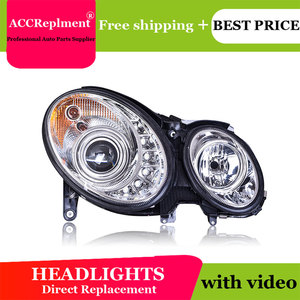 Image 5 - For Benz W211 2003 2009 Headlights All LED Headlight DRL Dynamic Signal Hid Head Lamp Bi Xenon Beam Accessories Car Styling