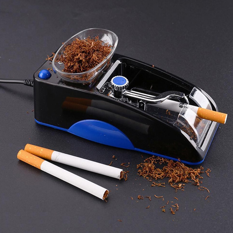 Electric Automatic Cigarette Rolling Machine Injector Maker Tobacco Roller P7Ding