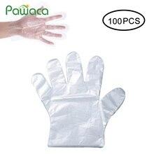 500 шт 100 шт латексные перчатки для приготовления пищи одноразовые перчатки для уборки волос, полиэтиленовые перчатки для ресторана, отеля, барбекю