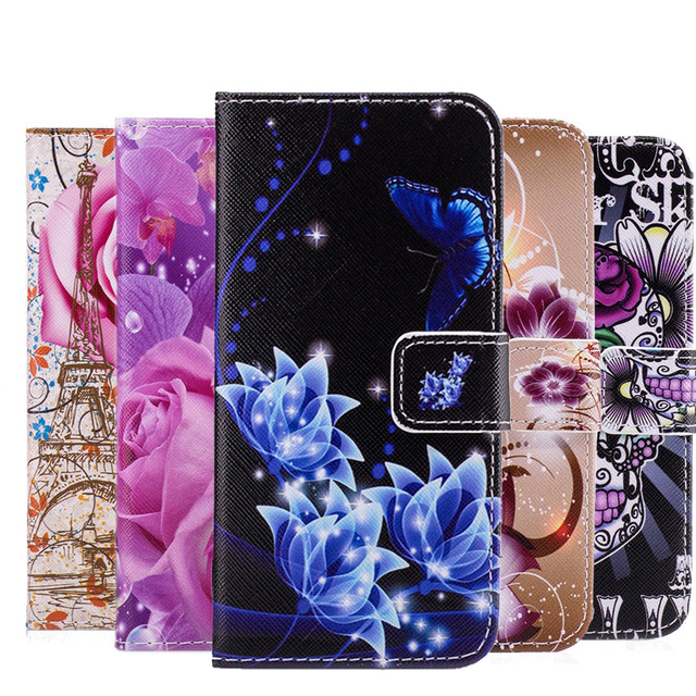 Painting Leather Flip Wallet Soft Case For Samsung <font><b>Galaxy</b></font> A5 2016 <font><b>A</b></font> <font><b>5</b></font> Cases <font><b>SM</b></font> A510 <font><b>A500F</b></font> A510H A510F DS A510F/DS Phone Cover image