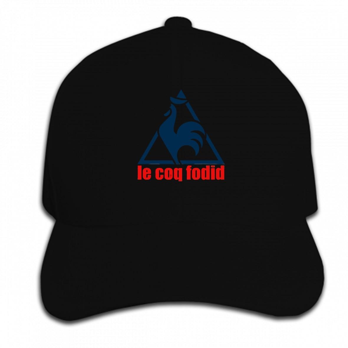 Print Custom Baseball Cap Le Coq Fodid Mens Casual Funny  Hat Peaked Cap