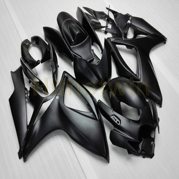 Custom motorcycle cowl for GSX-R600750 2006-2007 K6 ABS plastic Fairing Injection mold black