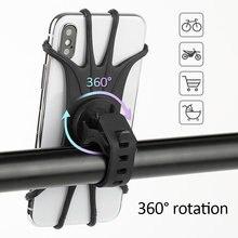 Suporte para celular de bicicleta para iphone 11, samsung, xiaomi 9, suporte universal para celular, guidão de bicicleta, tslm1