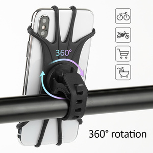 Bicycle Phone Holder for IPhone 7 XS Max Samsung Xiaomi 9 Universal Motorcycle Mobile Phone Holder Bike Handlebar Stand Bracket