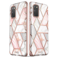 I BLASON Cosmo For Samsung Galaxy S20 Case / S20 5G Case Full Body Glitter Marble Bumper Cover WITHOUT Built in Screen Protector
