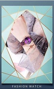 Image 5 - Montres strass à paillettes pour femmes, complet, en acier inoxydable, diamant, Bracelet étanche, offres spéciales