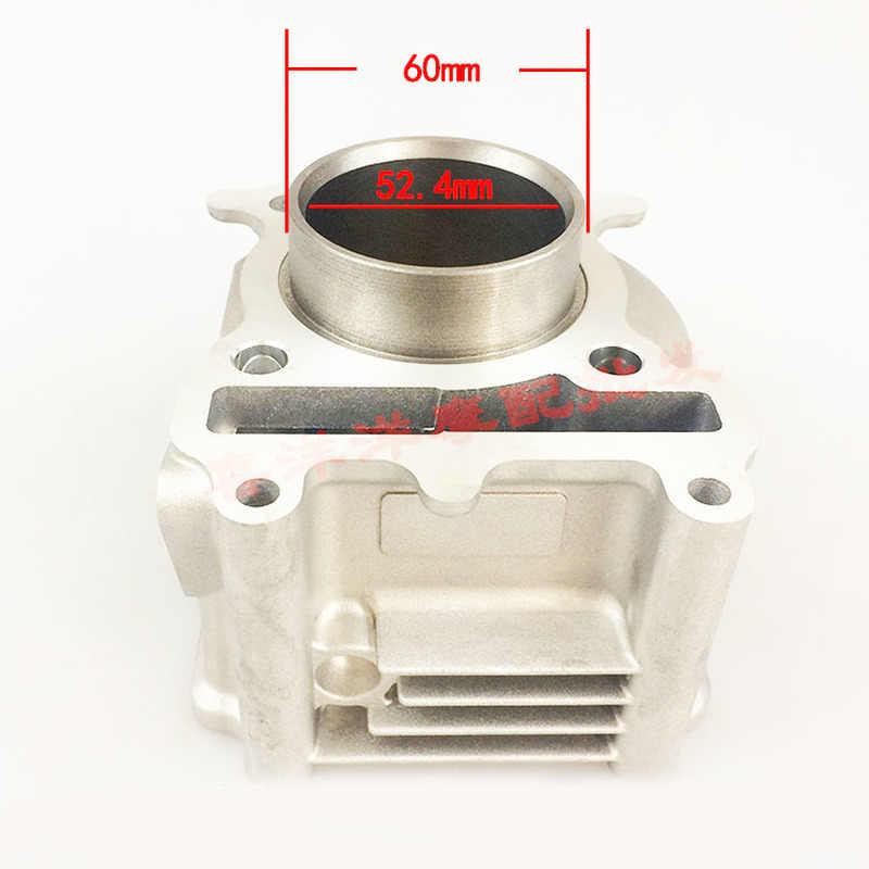 Комплект поршневых цилиндров двигателя 52,4 мм, прокладка цилиндра 15 мм, штифт для Yamaha ZUMA125 YW125 BWS125 Nxc Cygnus 125 125cc