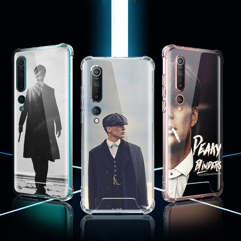 Peaky Blinders Case For Xiaomi Mi Note 10 9 CC9 9T Pro 5G CC9E 8 A2 Lite X2 F1 Airbag Anti Fall TPU Phone Coque