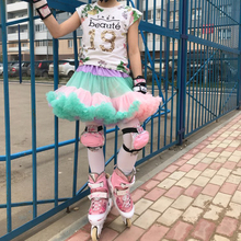 Princess Skirt Tutu Party-Clothes Dance-Wear Chiffon Fashion 12M-18T Fluffy Baby-Girls