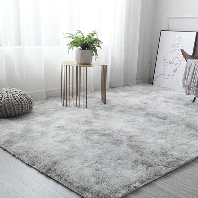 Living Room / Bedroom Rug Antiskid Soft Thicker Non-slip 160cm * 230 Cm Carpets Modern Carpet Mat Pink Gray Light Khaki 3 Color