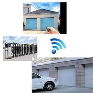 Image 3 - Sonoff 4 채널 무선 RF 원격 제어 433 MHz 전기 게이트 도어 원격 제어 키 Fob 컨트롤러