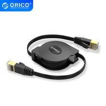 ORICO CAT6 Ethernet Kabel Tragbare Einziehbare Ethernet LAN Internet Netzwerk Kabel für Laptop Router Netzwerk Kabel 1000Mbps 2M