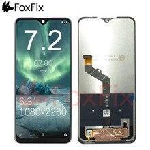 FoxFix شاشة LCD لهاتف Nokia 7.2 ، مجموعة المحولات الرقمية لشاشة اللمس ، قطع غيار LCD لهاتف Nokia 7.2 TA 1196