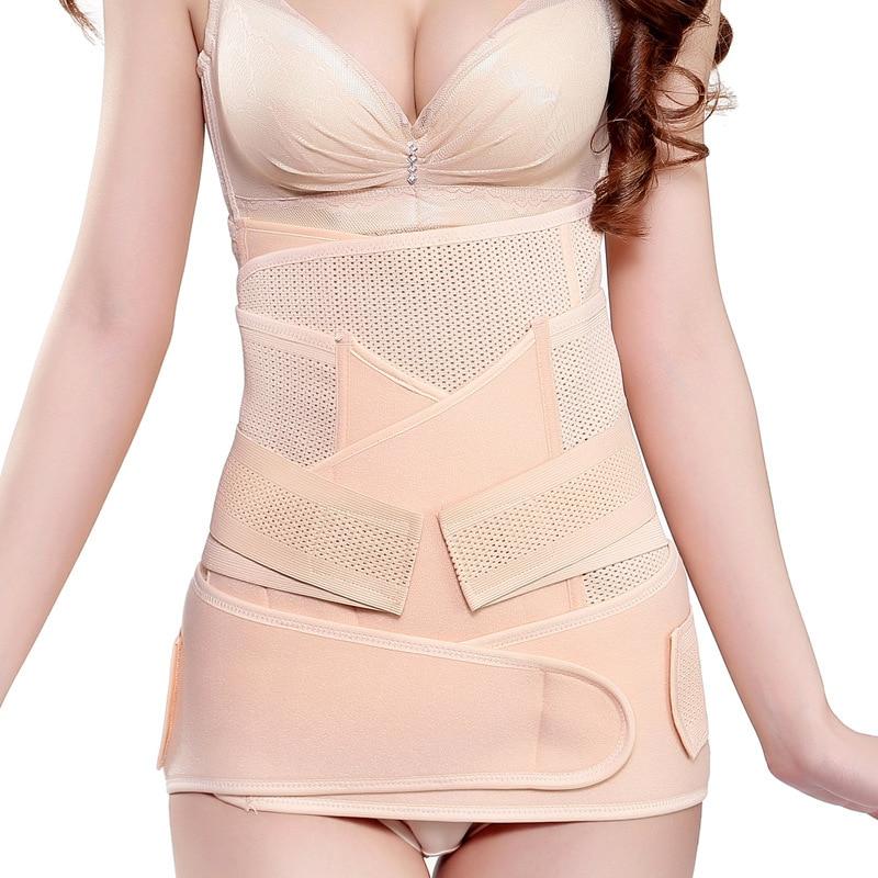 3Pcs/set Pregnant Women Belt After Pregnancy Support Belt Belly Corset Postpartum Postnatal Girdle Bandage After Delivery Shaper