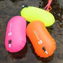 Inflatable Swimming Buoy Life Bag Tow Floating Dry Bag Swimming Diving Safety Signal Air Bag Inflate Ring Water Sport