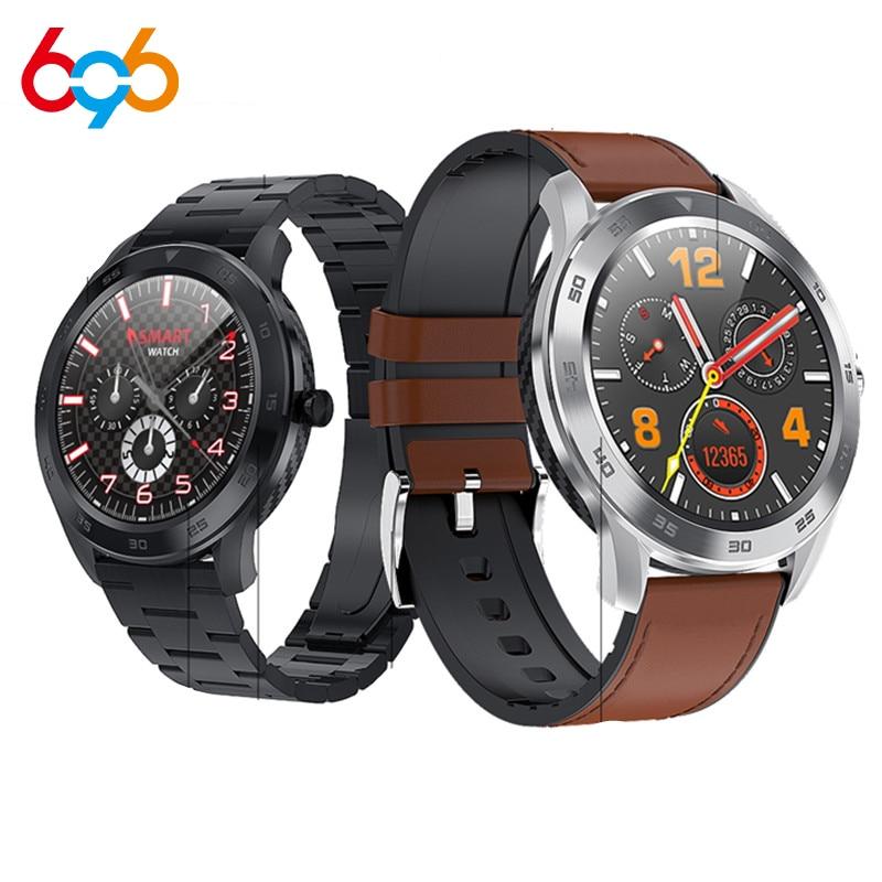 DT98 Smart Watch Men Bluetooth Call IP68 Waterproof Watch Heart Rate Sleep Detection Pedometer Stopwatch Smart Bracelet Music