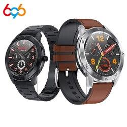 DT98 Smart Watch Pria Bluetooth Panggilan IP68 Tahan Air Denyut Jantung Deteksi Tidur Pedometer Stopwatch Smart Gelang Musik