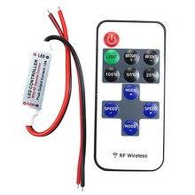 12В РФ Беспроводной пульт дистанционного управления переключатель диммер 10 уровней диммер для Светодиодные ленты светильник