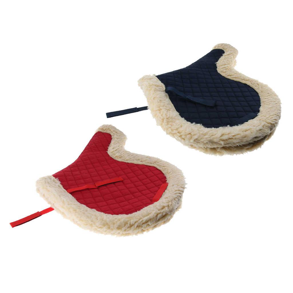 Engels Paard Zadel Pad Alle Purpose Comfortabele Zachte Winter Outdoor Paardrijden Paardensport Levert