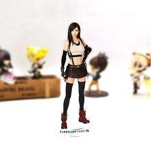 F fantasia vii remake tifa lockhart hm acrílico suporte figura modelo placa titular bolo topper anime brinquedo jogo