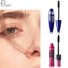 Waterproof and Sweatproof 4D Big Eye Thick Mascara Fiber Curling Quick Dry not Blooming Brush Head Combination Set