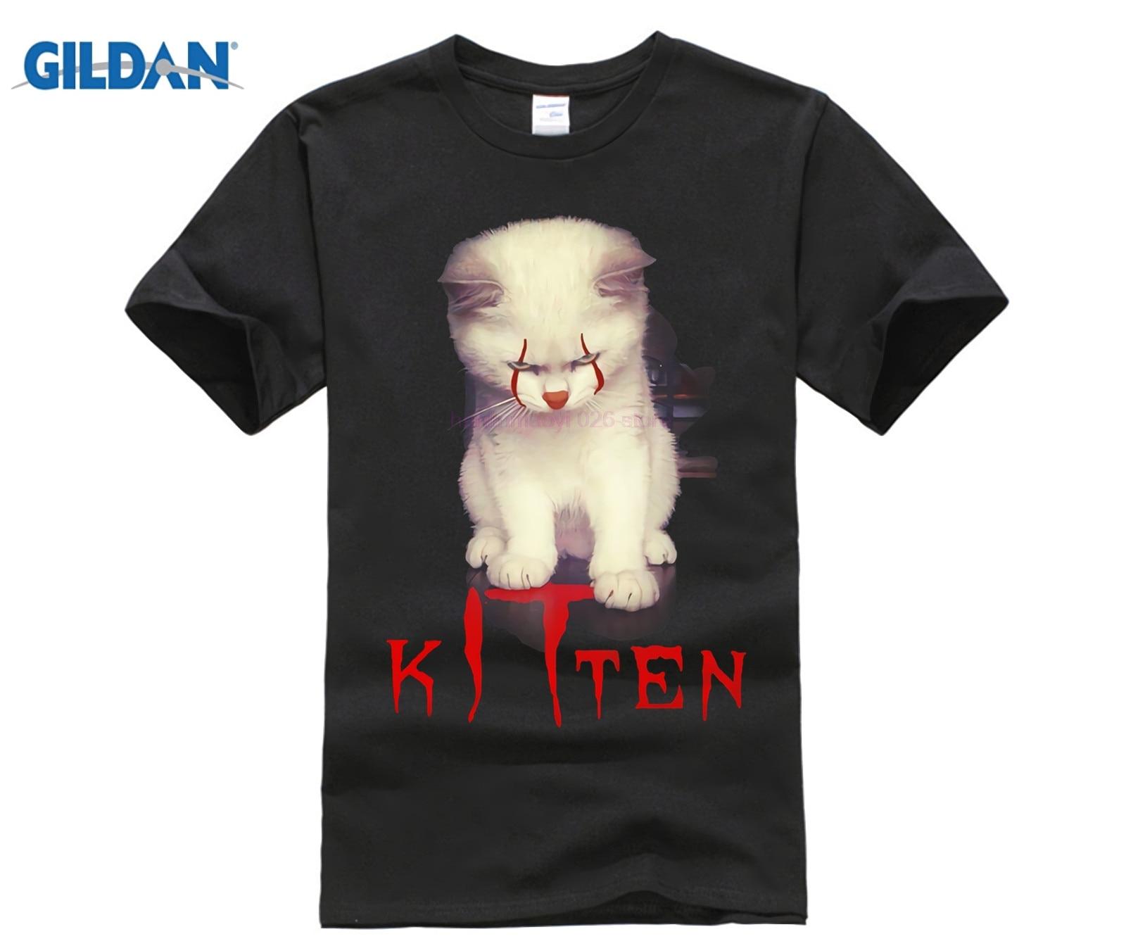IT Pennywise KITtywise Kitten Purrrfect Stephen King Shirts