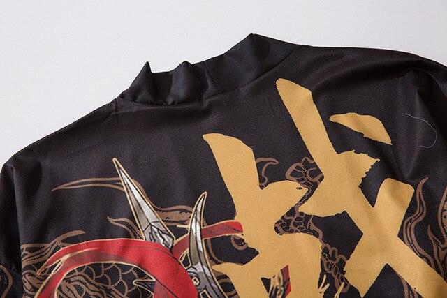 Japońskie kimono cardigan mężczyźni haori yukata mężczyzna samuraj kostium odzież kimono kurtka mężczyzna kimono koszula yukata haori