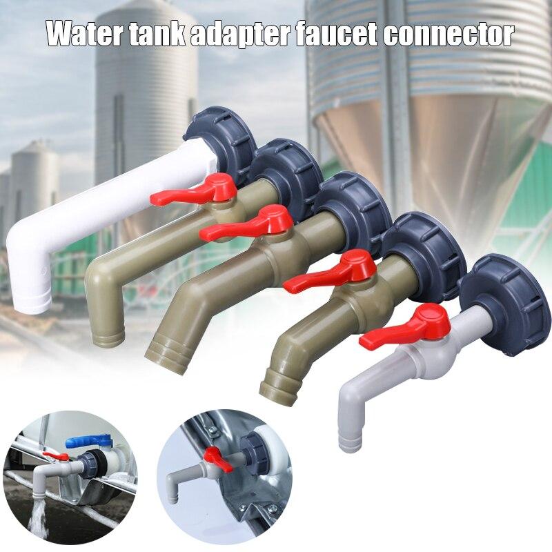 Kunststoff IBC Tank Adapter Garten Schlauch Anschluss Wasser Tank Schlauch Anschluss Ersatz 1/2 3/4 1 Zoll I88