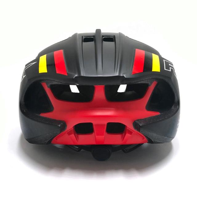 Rnox ciclismo capacete velocidade de corrida pneumático capacetes da bicicleta estrada para homens feminino tt tempo triathlon triathlon capacete da bicicleta casco ciclismo 5