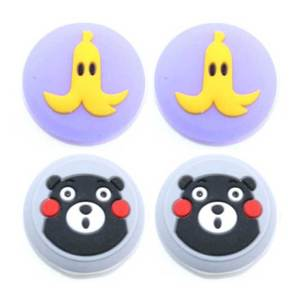 Image 4 - JCD 4PCS For Joy Con Silicone Joystick Thumb Stick Grip Cover Case Analog Caps For Nintendo Switch NS Joy Con Controller