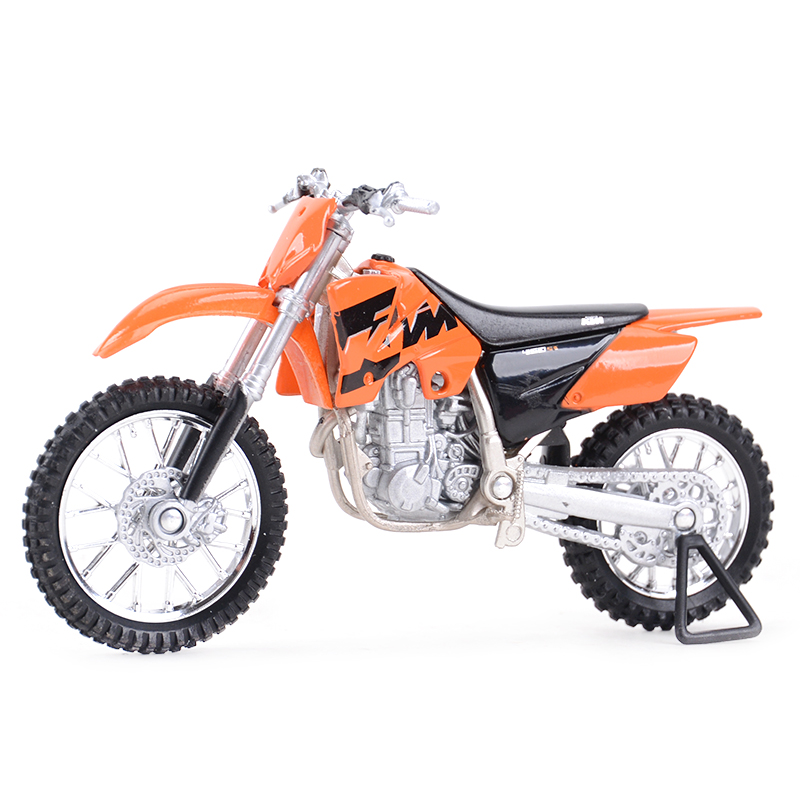 Welly 1:18 KTM 450 SX Racing Diecast Alloy Motorcycle Model Toy